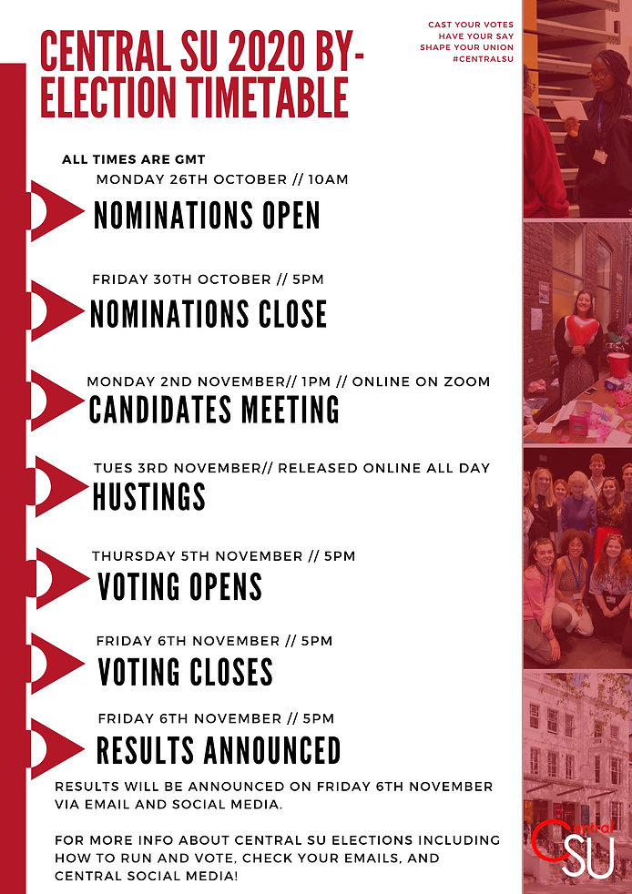 By -Elections Timeline_ Central SU Elect