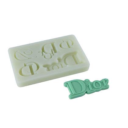 O'Creme Dior Logo Silicone Mold