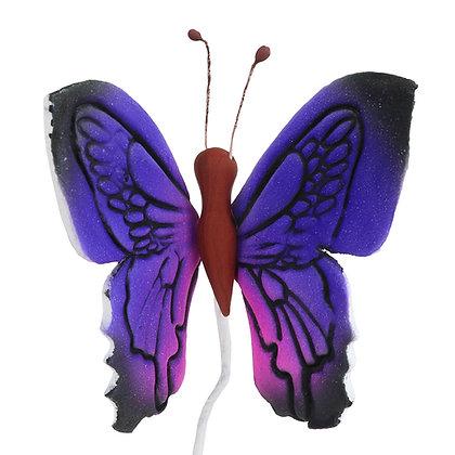 O'Creme Gumpaste Butterfly, Purple - Set of 12