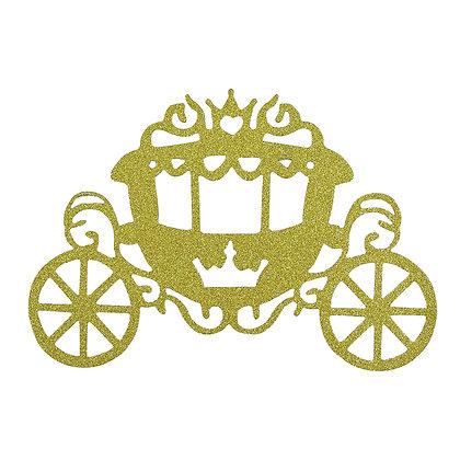 O'Creme Carriage Cake Topper