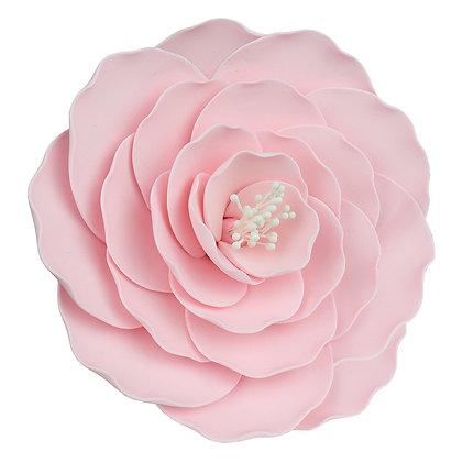 O'Creme Pink Briar Rose Jumbo Gumpaste Flowers - Set of 3