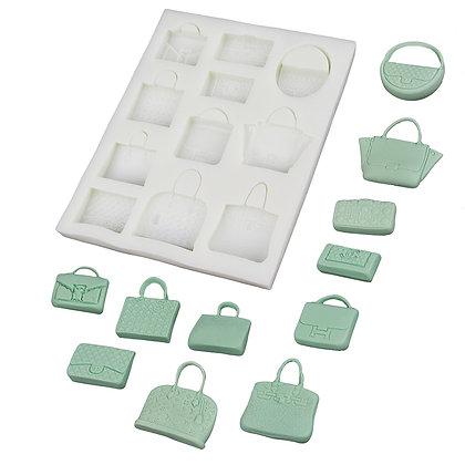 O'Creme Designer Bags Silicone Mold