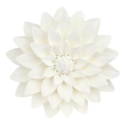 O'Creme White Dahlia Gumpaste Flowers - Set of 3