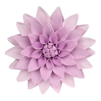 O'Creme Lavender Dahlia Gumpaste Flowers - Set of 3