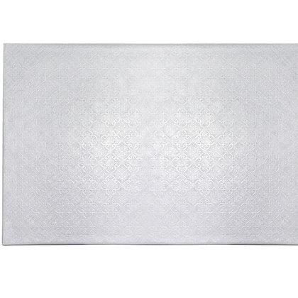 """O'Creme White Log Cake Board, 14-1/2"""" x 5"""" x 1/4"""" - Pack of 10"""