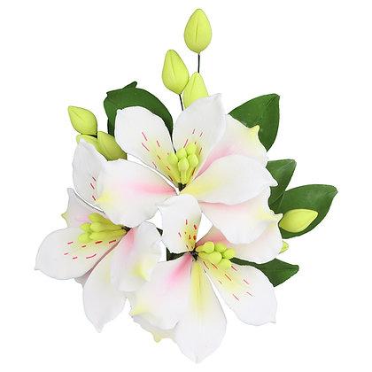 O'Creme Alstroemeria Spray Gumpaste Flower