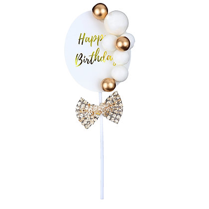 O'Creme Happy Birthday Cake Topper