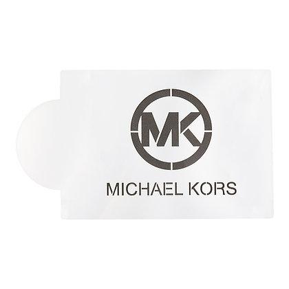 O'Creme Michael Kors Designer Cake Stencil