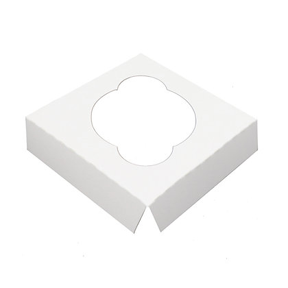 O'Creme White Cardboard Insert for Cupcake, 1 Cavity