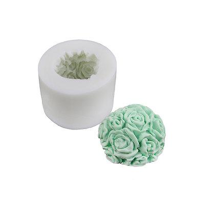 O'Creme Rose Ball Silicone Mold