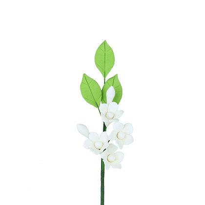 White Asian Stephanotis Fillers Gumpaste Flowers - Set of 3
