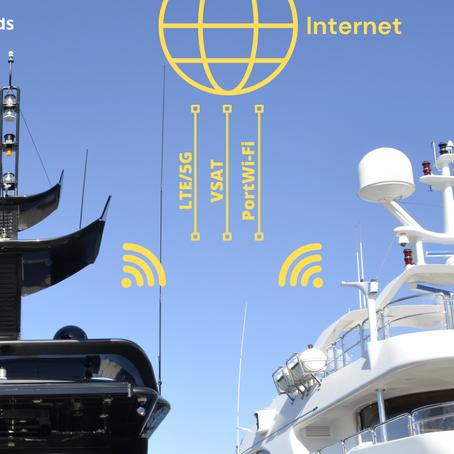 Bent u op zoek naar de beste internet ervaring aan boord van uw jacht?