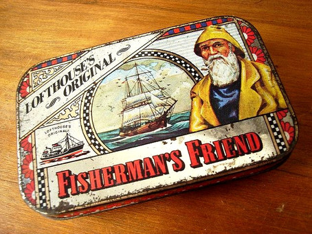 Fishermen's Friend Mint Lozenges & A-ma