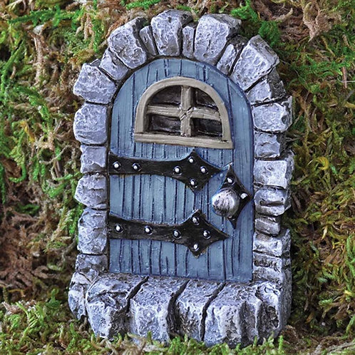 Fiddlehead Medieval Fairy Door