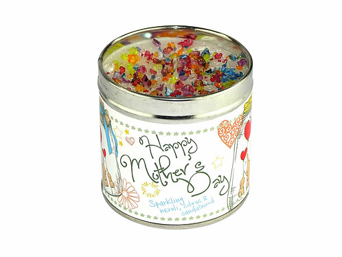 Happy Mother's Day Tinned Candle
