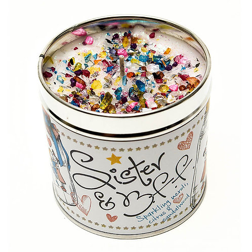 Sister & BFF Tinned Candle