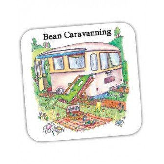 Bean Caravanning Coaster