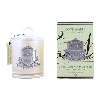 Côte Noire: Persian Lime & Tangerine Scented Candle