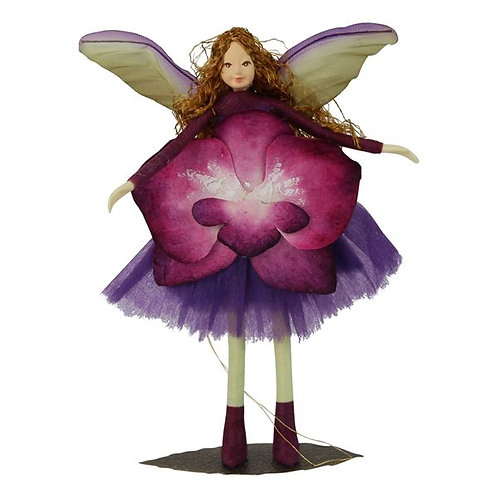 Poseable Fairy Art Doll: Violetta
