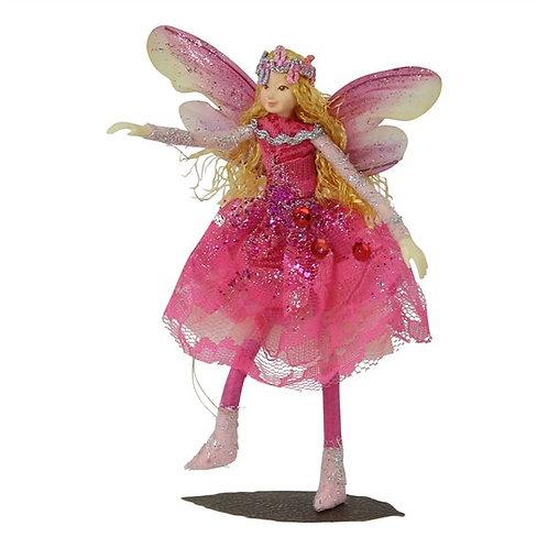 Poseable Fairy Art Doll: Cerise