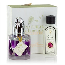 Orchid Petals Fragrance Lamp Gift Set
