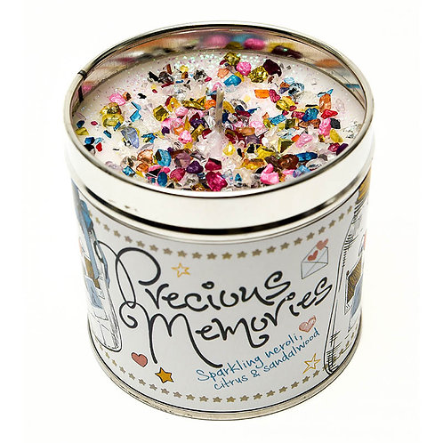Precious Memories Tinned Candle