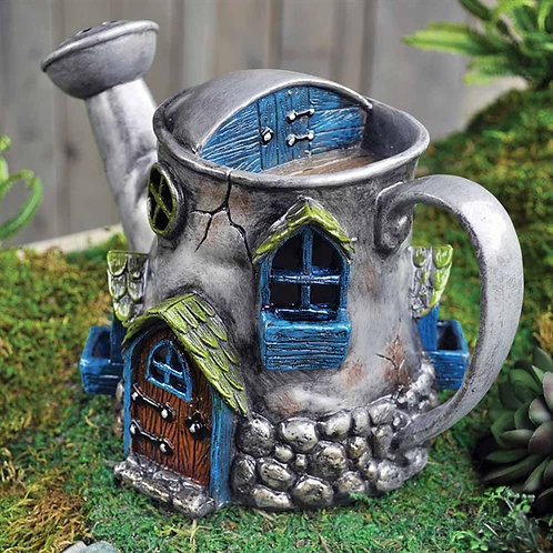 Fiddlehead Watering Can House