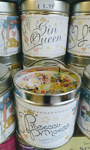 Gin Queen Tinned Cadle