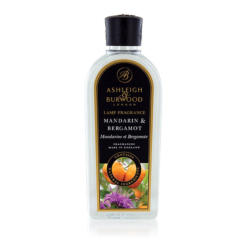 Mandarin & Bergamot Lamp Fragrance 500ml