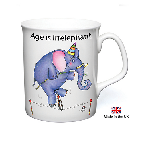 Age Is Irrelephant Mug