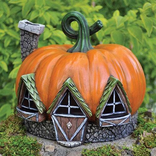 Fiddlehead Pumpkin House