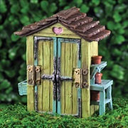Fiddlehead Fairy Garden Shed