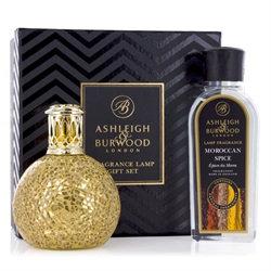 Golden Orb Fragrance Lamp Gift Set
