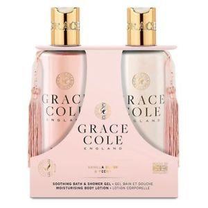 Grace Cole Body Care Duo: Vanilla Blush & Peony
