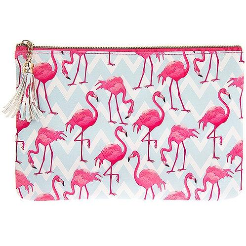 Flamingo Bay Clutch Bag