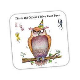 Oldest Owl Coaster