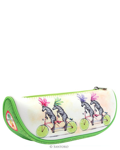 Fruity Scooty Zebras: Pencils & Accessory Case