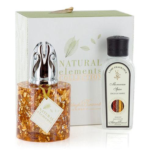 Copper Flecks Fragrance Lamp Gift Set