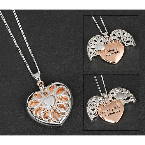Simple Moments Message Locket