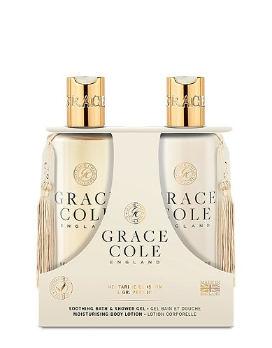 Grace Cole Body Care Duo: Nectarine & Grapefruit