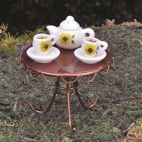 Fiddlehead Porcelain Tea Set