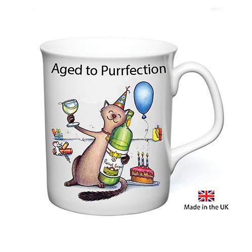Aged To Purrfection Mug
