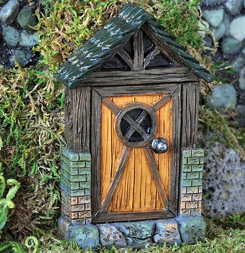 Fiddlehead Cottage Fairy Door