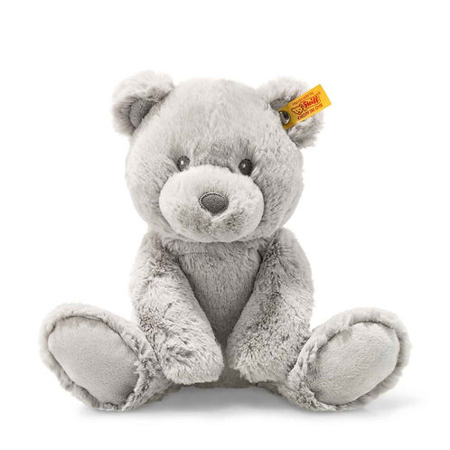 Steiff Bearzy Teddy Bear 28cm Grey