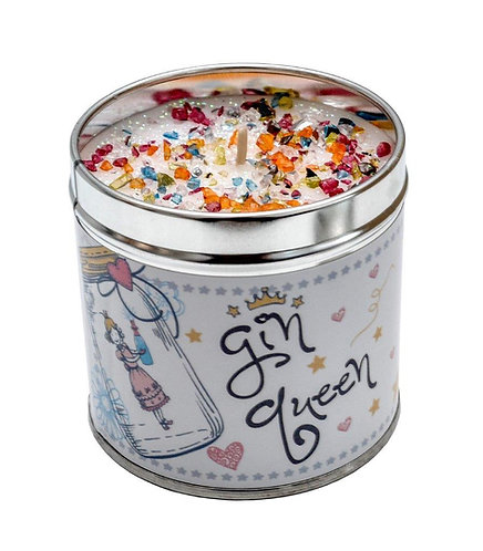 Gin Queen Tinned Candle