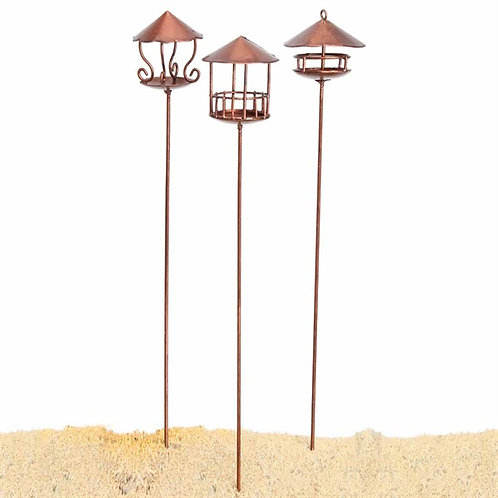 Fiddlehead Bird Feeder Set