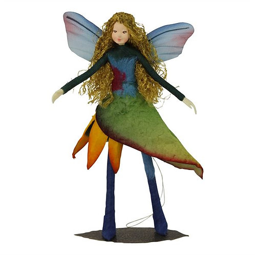 Poseable Fairy Art Doll: Leilani
