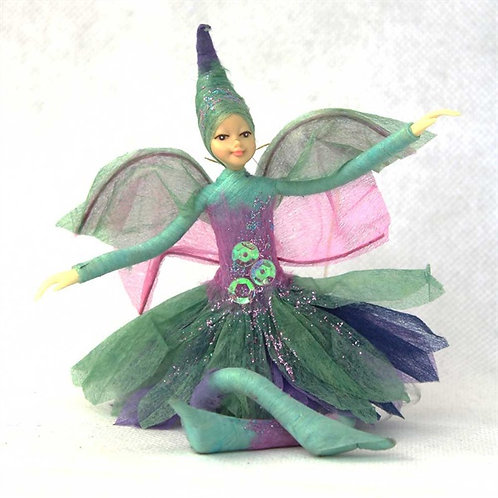 Poseable Fairy Art Doll: Janis