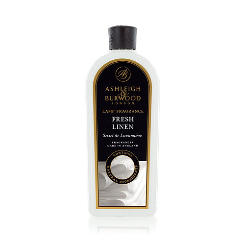 Fresh Linen Lamp Fragrance 500ml