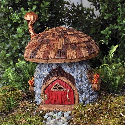 Fiddlehead Shingletown Mushroom Gnome Home